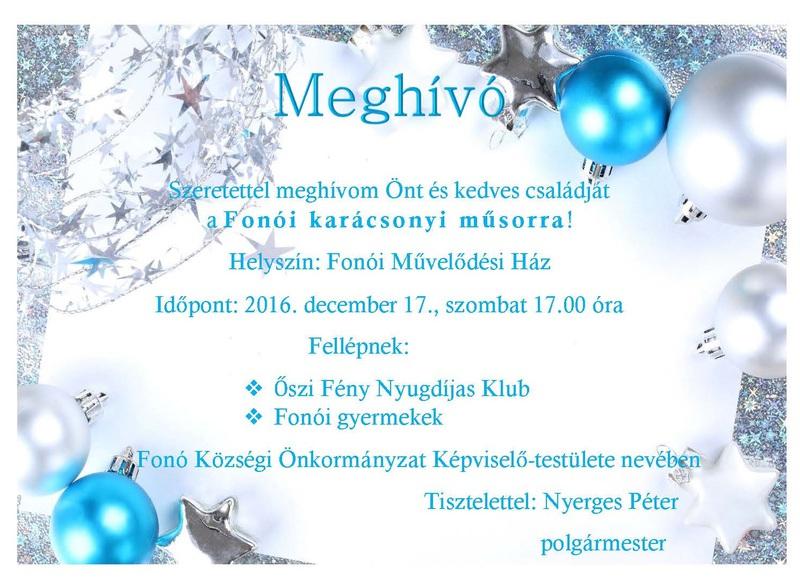 MeghívóKarácsony2016